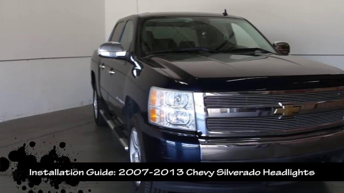 The Guide to Change 07-13 2th Gen Chevy Sliverado Projector Headlight