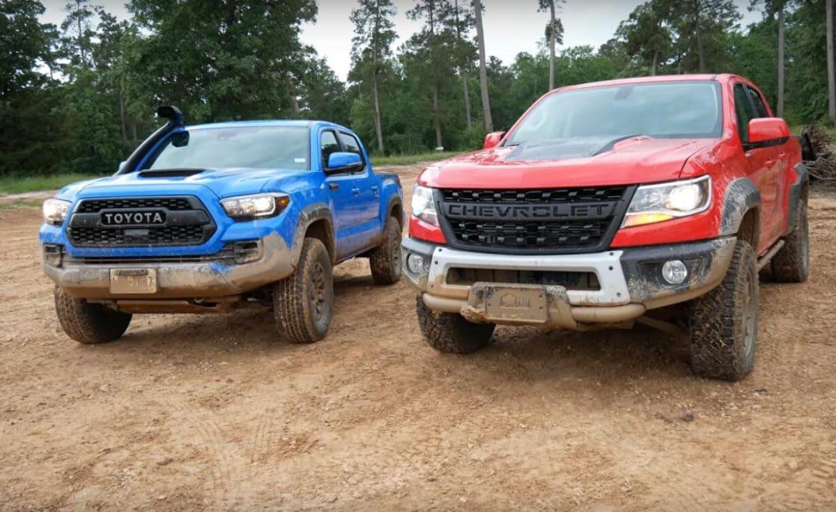 2019 Toyota Tacoma vs. 2019 Chevrolet Colorado